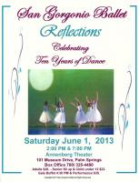 San Gorgonio Ballet presents: REFLECTIONS at Annenberg Theater