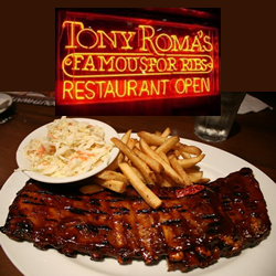 tony romas palm desert