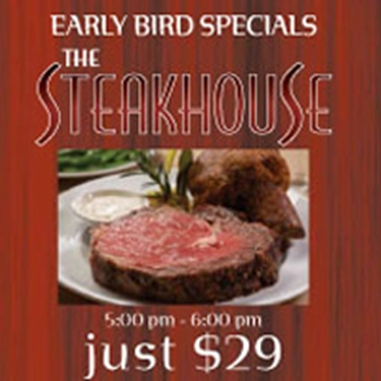 The Steakhouse Palm Springs ,steak houses. sea food