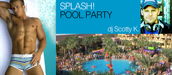 plash! Pool Party with dj Scotty K at the Renaissance Hotel Pool