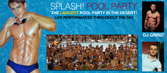 Splash! is the largest pool party in the desert!